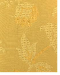 Orange Large Print Floral Fabric  Wes Yukon Gold