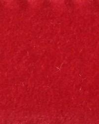 Red Furnishings Velvets Fabric  CW Velveteen Scarlet