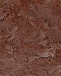 Brown Faux Fur Fabric  Crushed Rabbit Brown