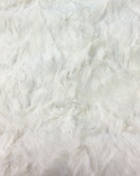 Beige Faux Fur Fabric  Crushed Rabbit Cream