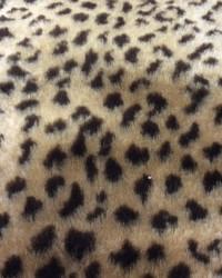 Faux Fur Fabric  Leopard Fur