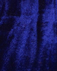 Blue Furnishings Velvets Fabric  Mars Crushed Velvet Cobalt
