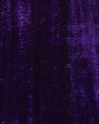 Purple Furnishings Velvets Fabric  Mars Crushed Velvet Deep Purple