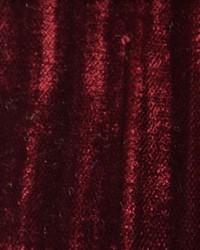 Red Furnishings Velvets Fabric  Mars Crushed Velvet Maroon