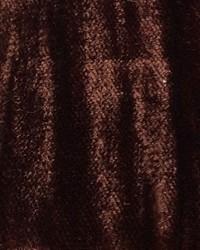 Brown Furnishings Velvets Fabric  Mars Crushed Velvet Walnut