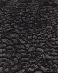 Black Faux Fur Fabric  Persia W Black