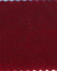 Stretch Knit Velvet Sultan Red by