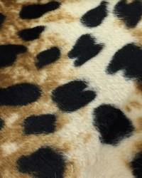 Faux Fur Fabric  Wild Kingdom Catamount