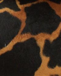Faux Fur Fabric  Wild Kingdom Giraffe