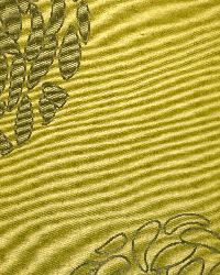 Green Circles and Swirls Fabric  Chacha Pear