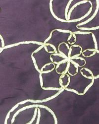 Global Textile Parade Plum Gold Fabric