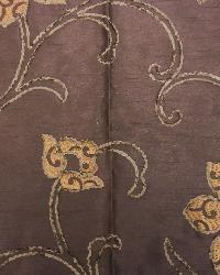 Brown Medium Print Floral Fabric  Sawyer Espresso