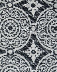 Blue Suzani Fabric  Taza Navy