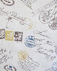 Word Fabrics  Voyage Truffle