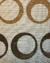 Brown Circles and Swirls Fabric  Wendy Chocolate