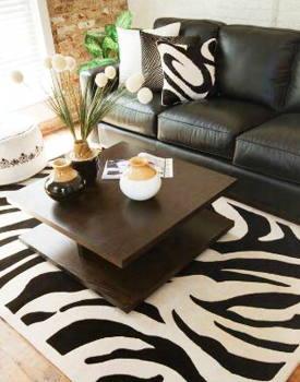 Area Rugs - Contemporary - Outdoor - Bamboo - Cowhide - Floral ...