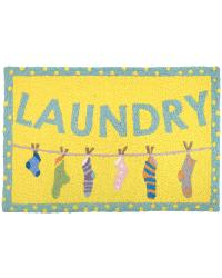 JB-AB018 Laundry Line Indoor Outdoor Rug by