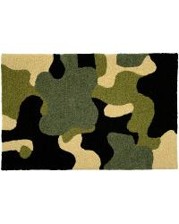 Camouflage Indoor Outdoor Rug by