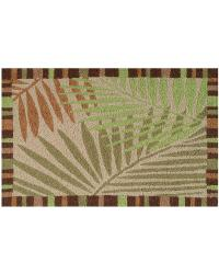 JB-JC007 Tropical Leaves Indoor Outdoor Rug by