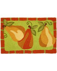 Kitchen Pears Indoor Outdoor Rug by