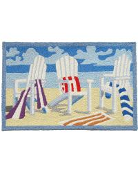 JB-PB003 Adironack Chair Indoor Outdoor Rug by