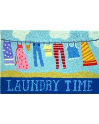 Laundry Time Indoor Outdoor Rug by