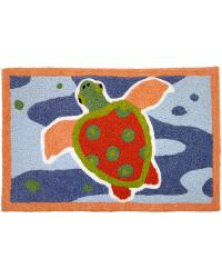 Spotted Turtle Indoor Outdoor Rug by