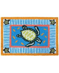 Tommy Turtle Indoor Outdoor Rug by