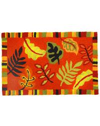 Fall Foliage Bigbean Indoor Outdoor Rug by