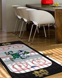 Notre Dame Fighting Irish Hockey Runner Rug by