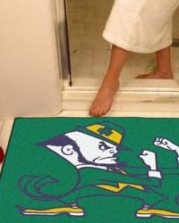 Notre Dame Leprechaun All Star Rug by