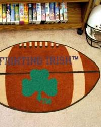 Notre Dame Fighting Irish Football Rug by
