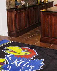 Kansas Jayhawks Area Rug by
