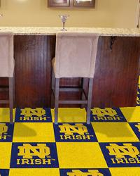 Notre Dame Fighting Irish Carpet Tiles by