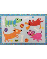 PUPPY PARTY  RUG by