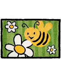 Buzy Bee Indoor Outdoor Rug by