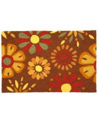 Fanciful Flowers Indoor Outdoor Rug by