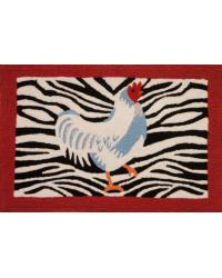 JUNGLE ROOSTER  RUG by