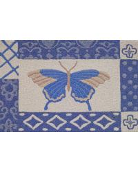 AZURE BUTTERFLY RUG by