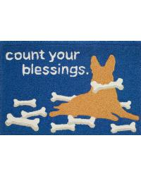 COUNT YOUR BLESSINGS RUG by