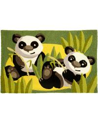 Panda Babies Indoor Outdoor Rug by