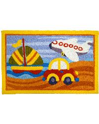 Kiddie Transport Indoor Outdoor Rug by