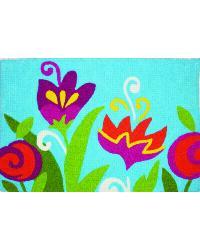 Tulip Garden Rug by
