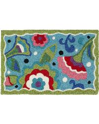 Flower Power Indoor Outdoor Rug by
