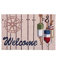 Fishing Buoys Rug by