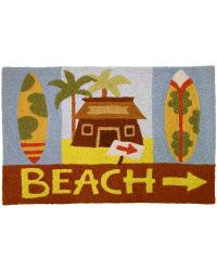 Beach House Rugs Kitchen