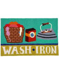 Wash  Iron Indoor Outdoor Rug by