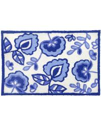 Blue Garden Indoor Outdoor Rug by