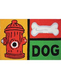 Canine Cool Kitchen Rug by