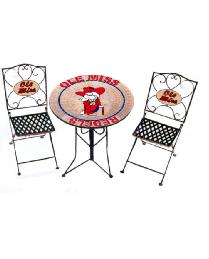 Ole Miss Rebels Bistro Set by